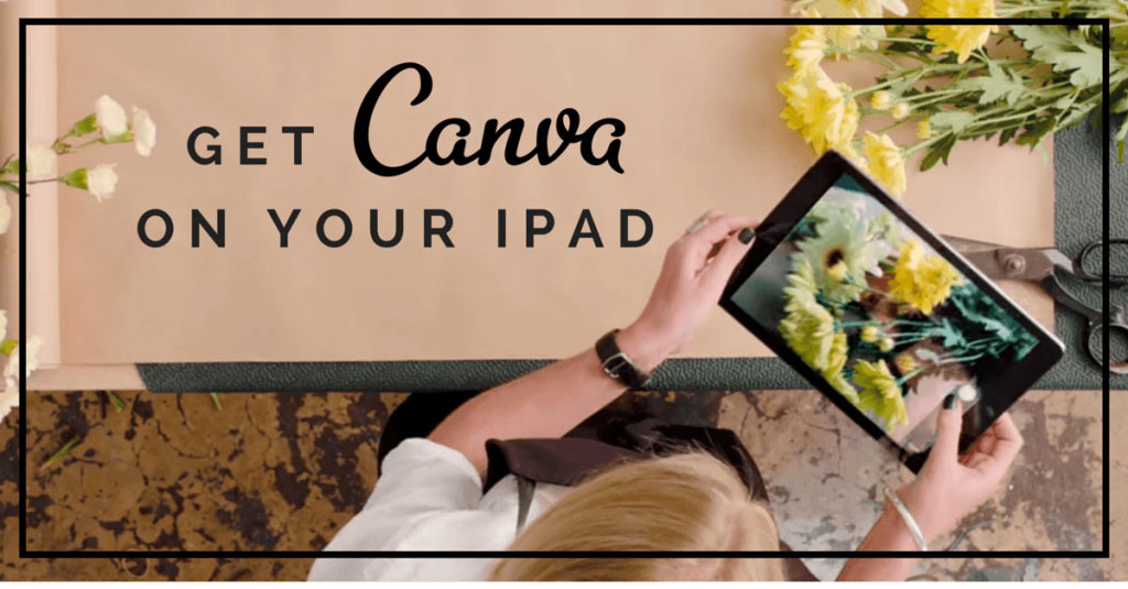 Canva-on-ipad