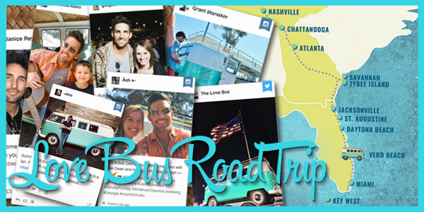 Spring Break Goes Social with #JakesLoveBus Tour