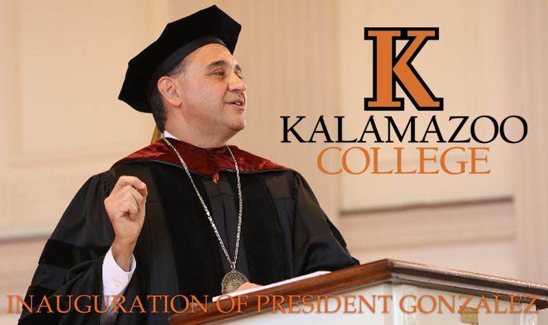 A Black & Orange Inauguration - Kalamazoo College