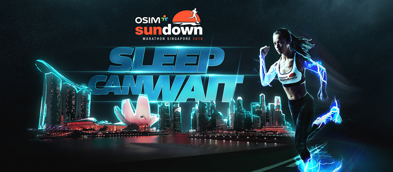 Let's Run a Marathon at Night - Singapore's Sundown Marathon